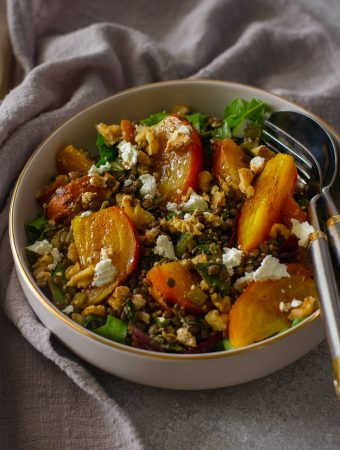 Lentils and Roasted Beets Salas